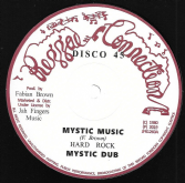 Hard Rock - Mystic Music / dub / Jah Send Rain / dub (Reggae Connection / Jah Fingers) 12""